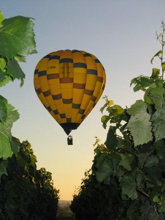 Montgolfière air Ballon Champagne region