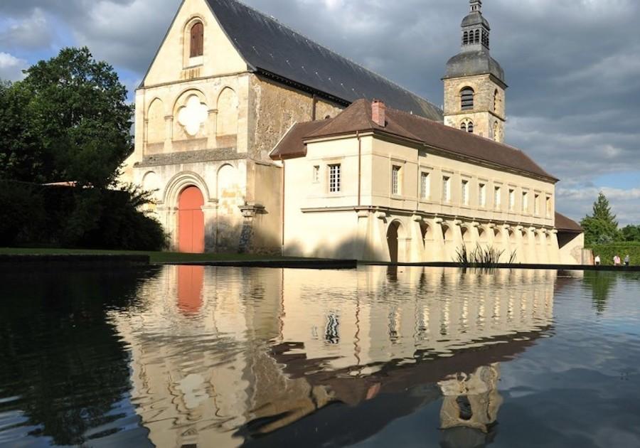 Dom Perignon's Abbey in Hautvillers
