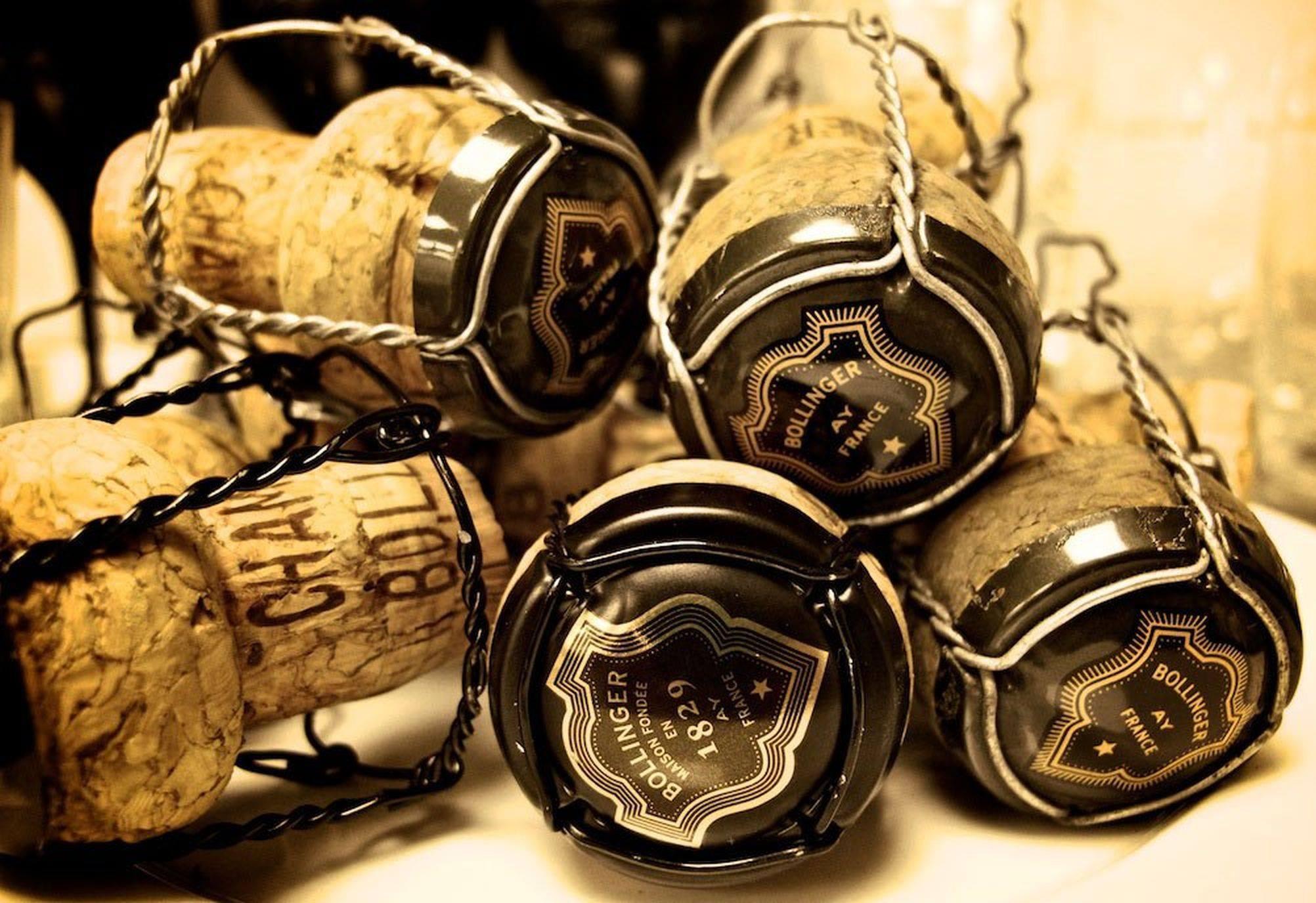 champagne, visits, Bollinger, corks, Epernay, Reims