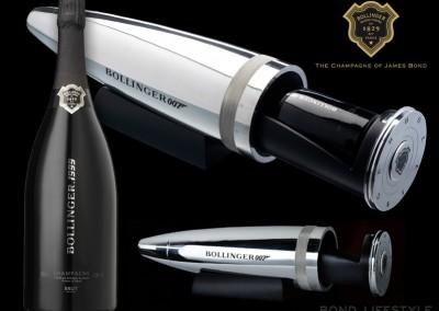 Bollinger, James Bond, official champagne, tours, Reims