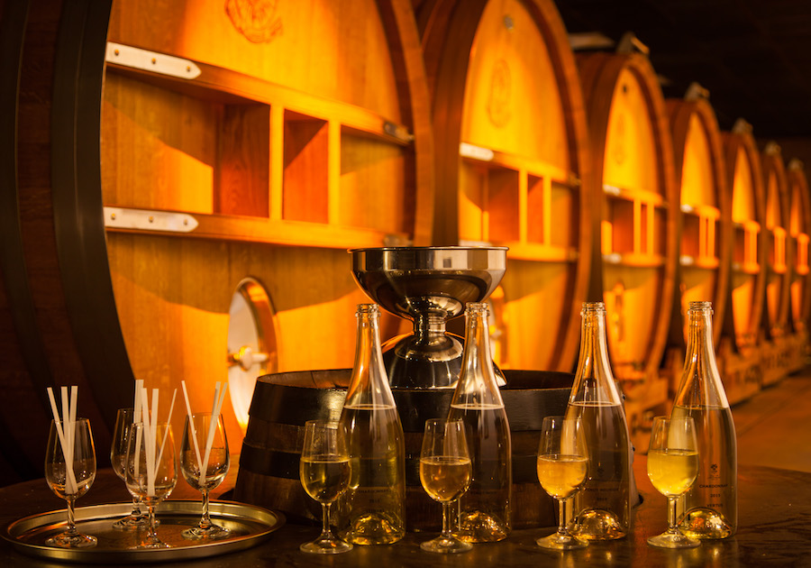 Champagne tasting workshop blend private tour class