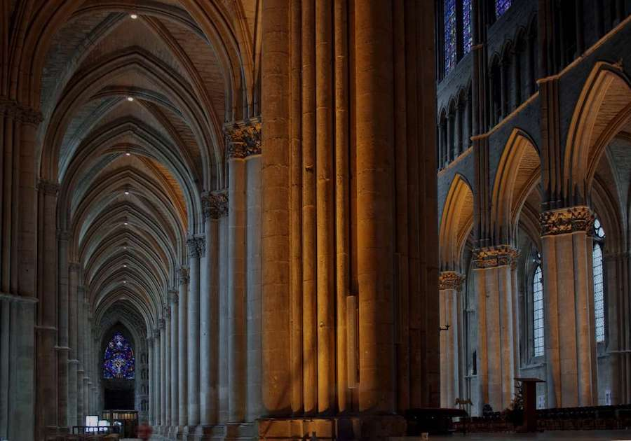 Cathedral Cathédrale Tour Champagne history Reims