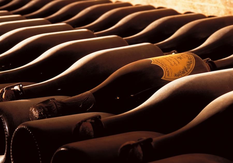 Dom Perignon cellars tour Champagne caves