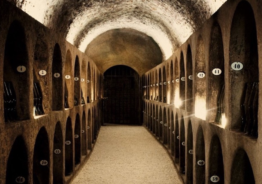 Moet cellars caves tour Champagne