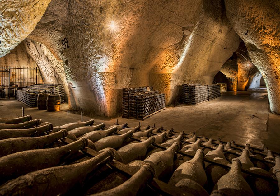 Caves Cellars Tour Veuve Clicquot Champagne