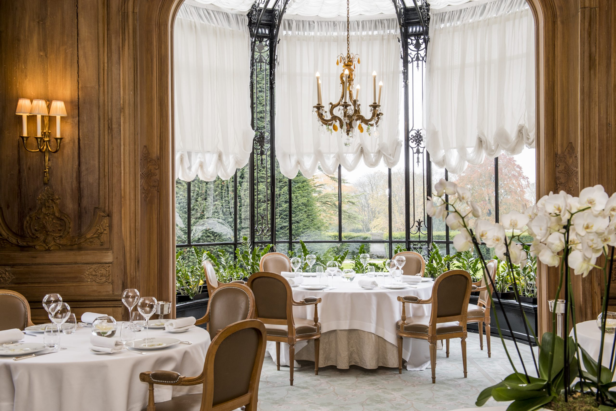 Restaurant Michelin à Reims - Champagne - les Crayères